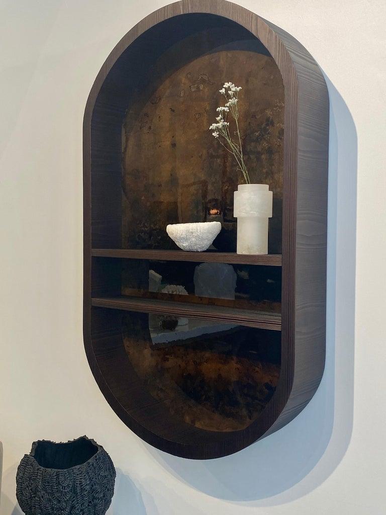Contemporary Atelier Linné x Denis Perrollaz Shelf Éléments in Pine and Lacquer For Sale