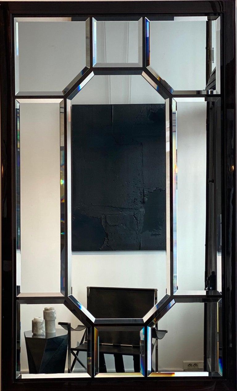 French Atelier Linné Esprit Mirror in Eucalyptus For Sale