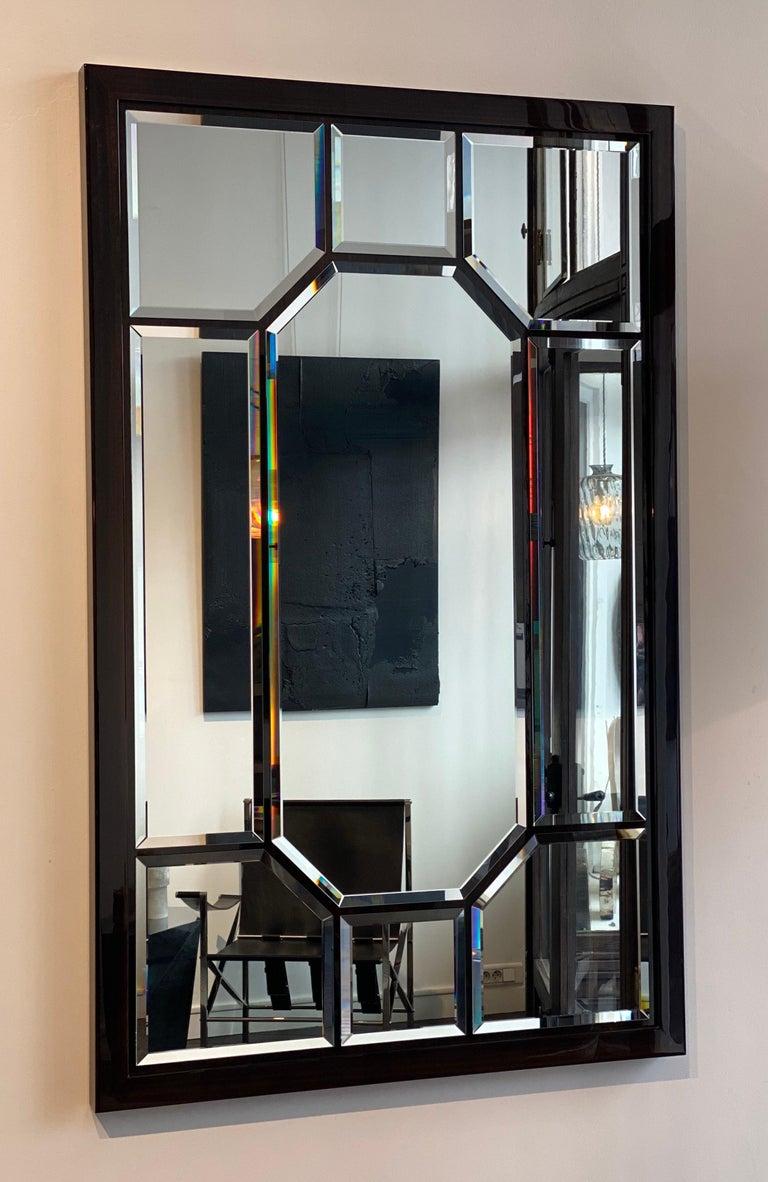 Varnished Atelier Linné Esprit Mirror in Eucalyptus For Sale