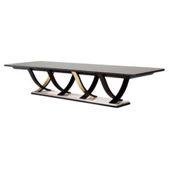 Art Deco Style Fontaine Dining Table Handcrafted Portugal by Greenapple