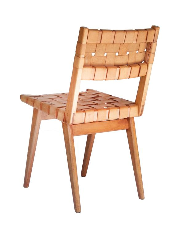 Set of Six Original Mel Smilow Woven Leather Chairs at 1stdibs