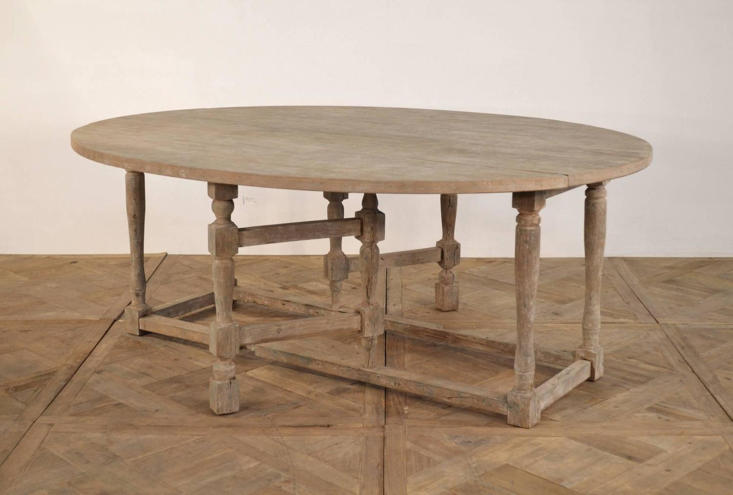 Wood Oval Dining Table For Sale At 1stdibs