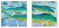 Tropical Fish Diptych