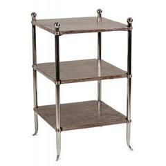 Three Tiered Side Table