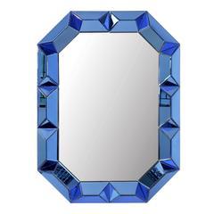 Sapphire Blue Wall Mirror