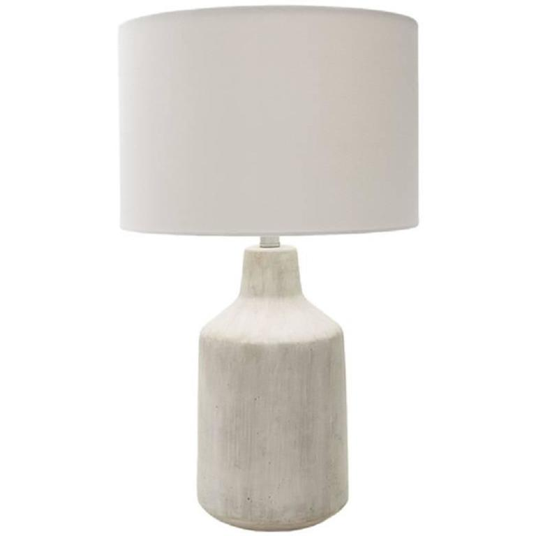 Concrete Table Lamp For Sale At 1stdibs