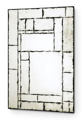 Antique Geometric Wall Mirror