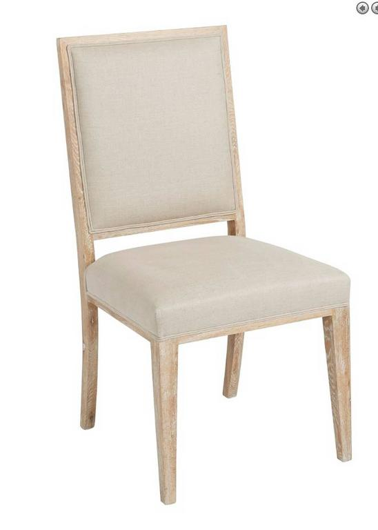 Upholstered White wash Dining Chair For Sale at 1stdibs : Capture1l from www.1stdibs.com size 548 x 768 jpeg 19kB