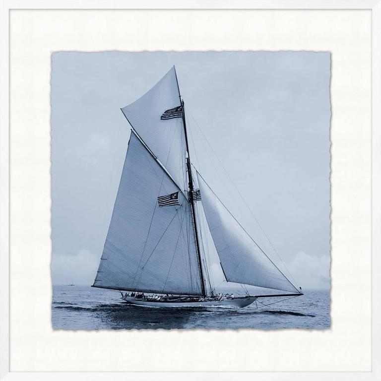 Glicee prints of C 1900 Americas Cup Yachts For Sale