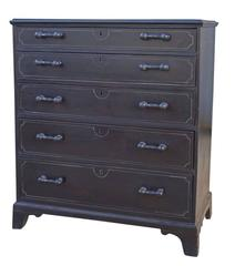 Ebonised English Dresser