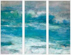 Morning Beach Triptych