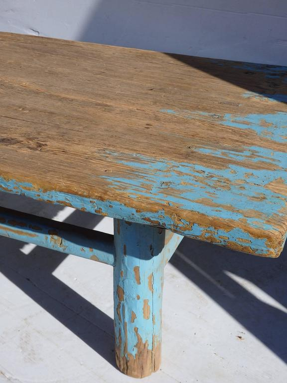 Primitive Chinese Coffee Table For Sale 1