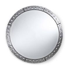 Venetian Style Round Mirror