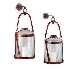 Leather Lanterns