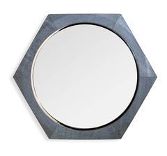 Gray Shargreen Mirror
