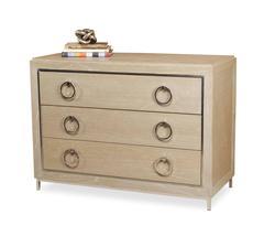 Wood & Metal Dresser