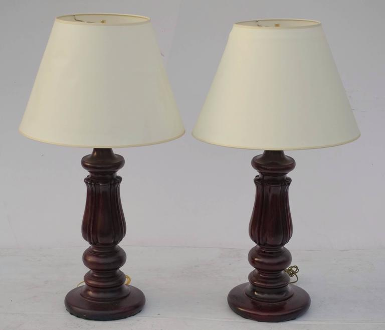 Antique Billiard Table Leg Lamps For Sale At 1stdibs