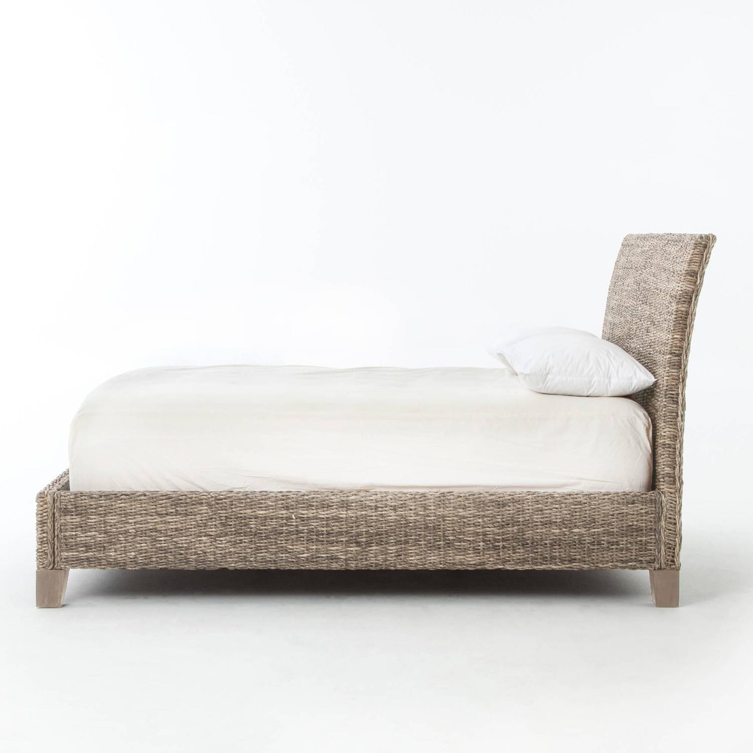 woven banana leaf bed for sale at 1stdibs