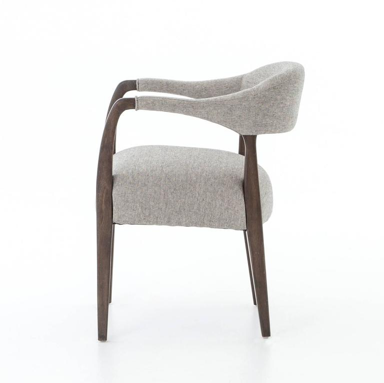 upholstered dining chairs with arms for sale at 1stdibs dining room furniture full dining room chairs with arms