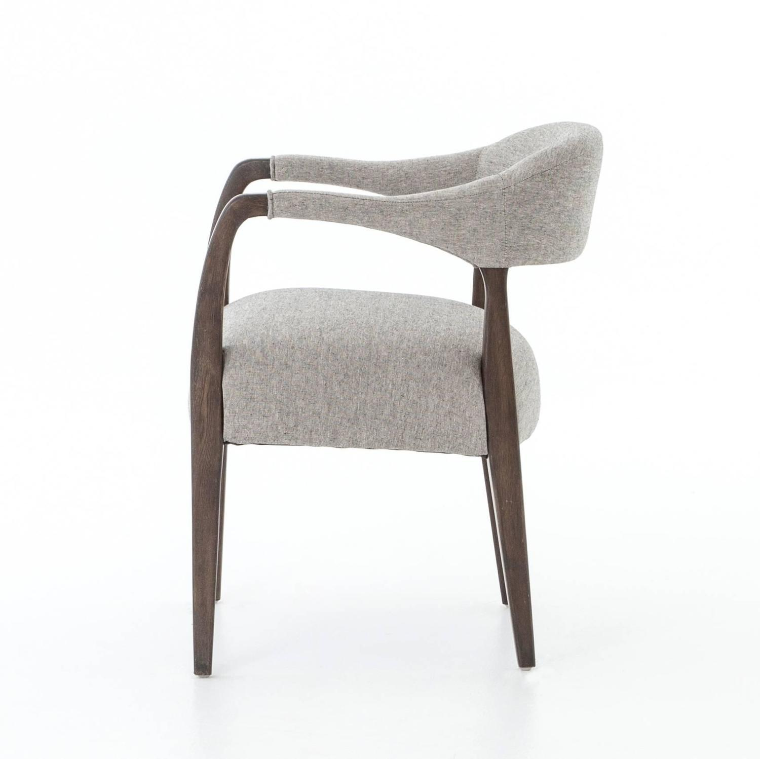 Upholstered Dining Chairs With Arms For Sale At 1stdibs