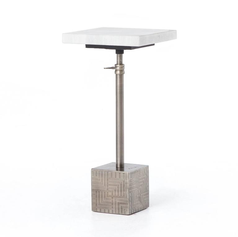 Adjustable Side Table For Recliner: Adjustable Side Table, Two Finishes For Sale At 1stdibs
