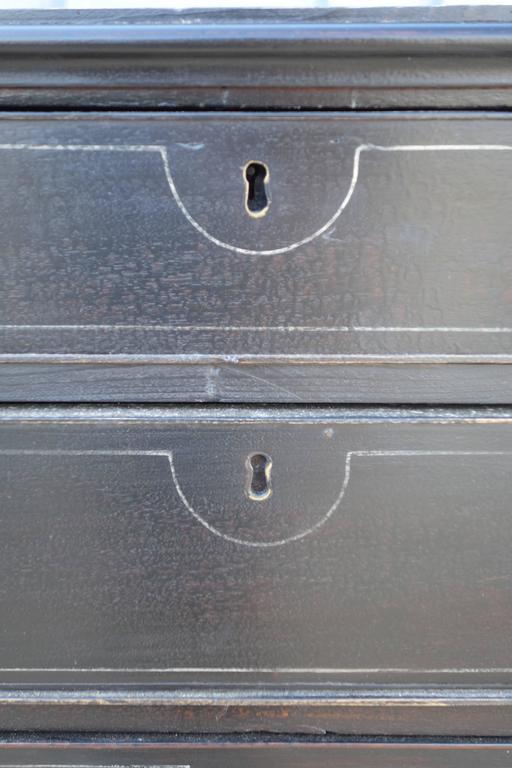 Ebonised English Dresser 4