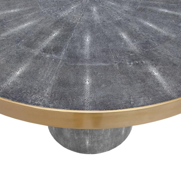 Faux Shagreen Table 2