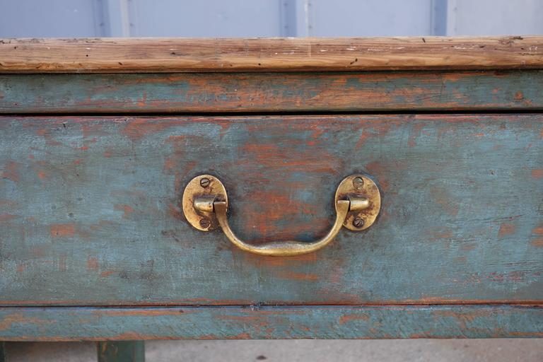 Painted Server In Good Condition For Sale In Bridgehampton, NY