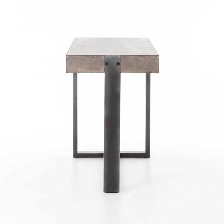 Industrial Style Console In Good Condition For Sale In Bridgehampton, NY
