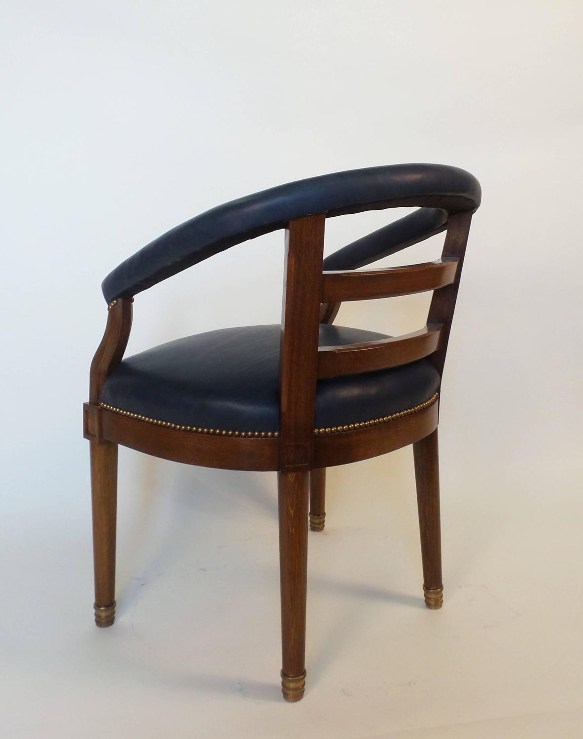 American Barrel Back Armchair For Sale at 1stdibs