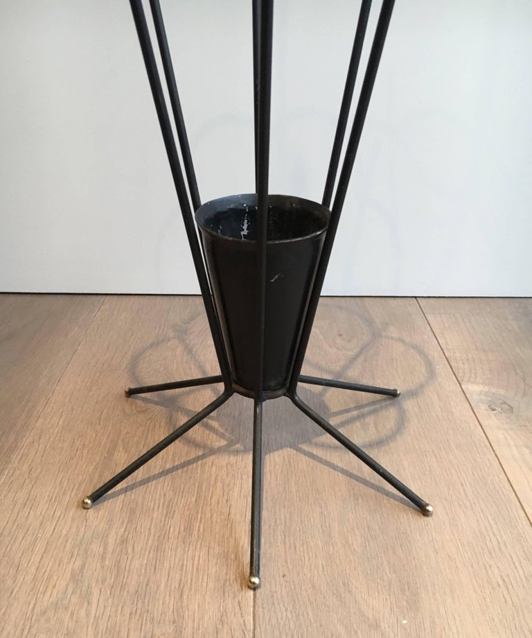 Umbrella Stand Black: Unusual Black Lacquered Umbrella Stand For Sale At 1stdibs