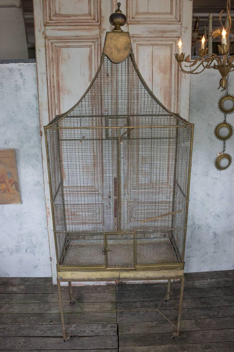 Large French Bird Cage For Sale 5