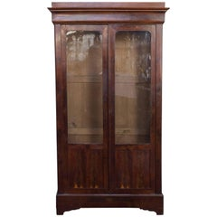 French Mahogany Bookcase