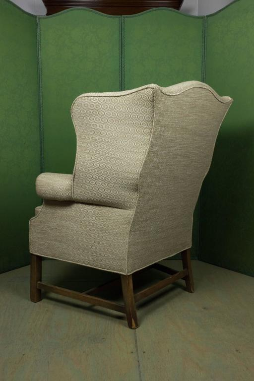 Large wingback armchair at 1stdibs for Oversized armchairs for sale