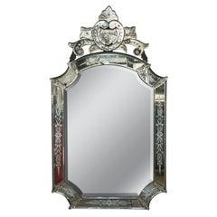 1920s Italian Venetian Mirror