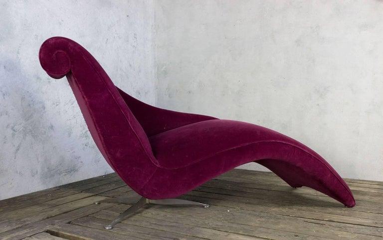 Italian Modern Chaise Longue 2