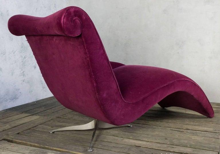 Italian Modern Chaise Longue 3