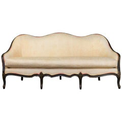 Louis XVI Style Sofa with Decorative Frame