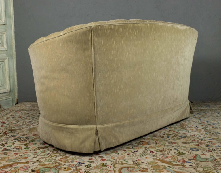 1960s Tufted Sofa with Loose Seat Cushion For Sale 7