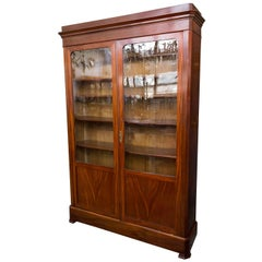 19th Century Louis Philippe Mahogany Bookcase
