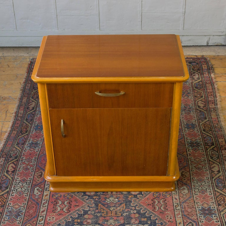Mid Century French Mahogany Nightstands For Sale At 1stdibs