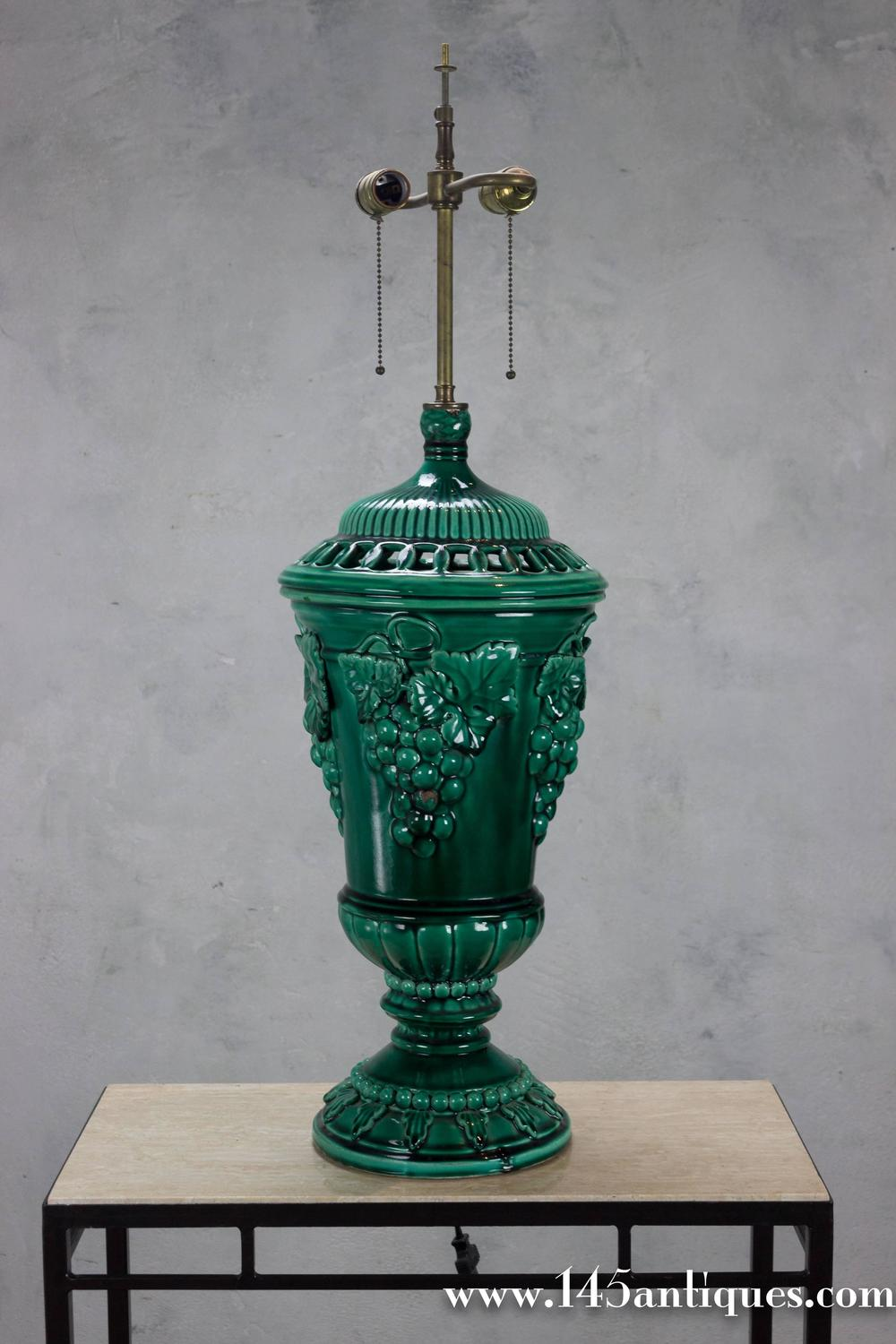 Large Ceramic Table Lamp For Sale At 1stdibs