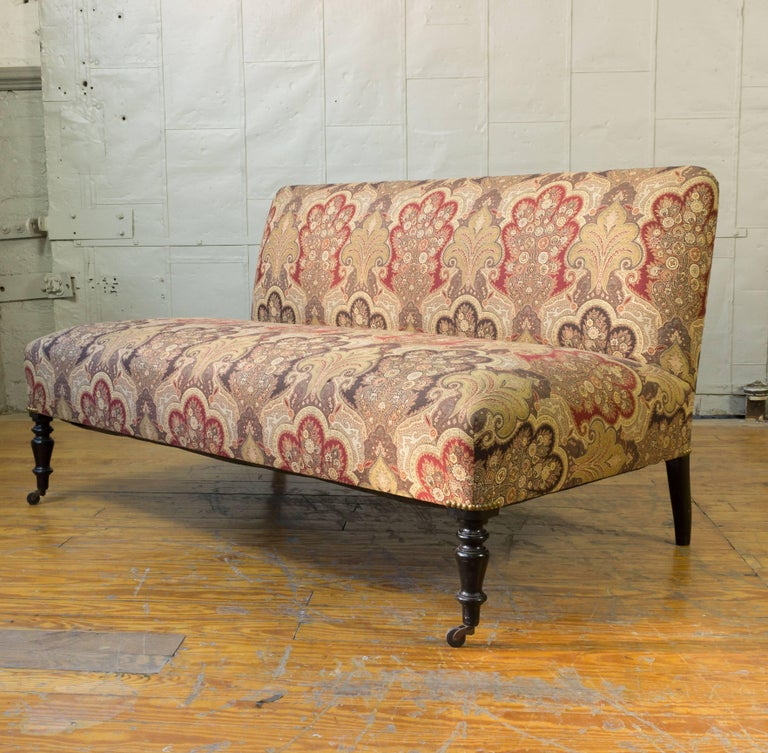 Napoleon III Reproduction Avignon Sofa For Sale