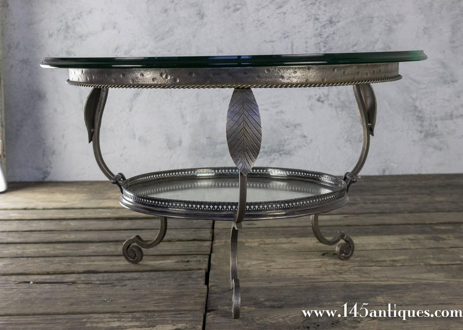 Unusual vintage coffee table with tray for sale at 1stdibs for Quirky coffee tables