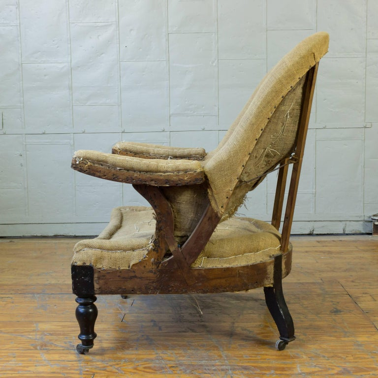 19th Century French Napoleon III Armchair For Sale 5
