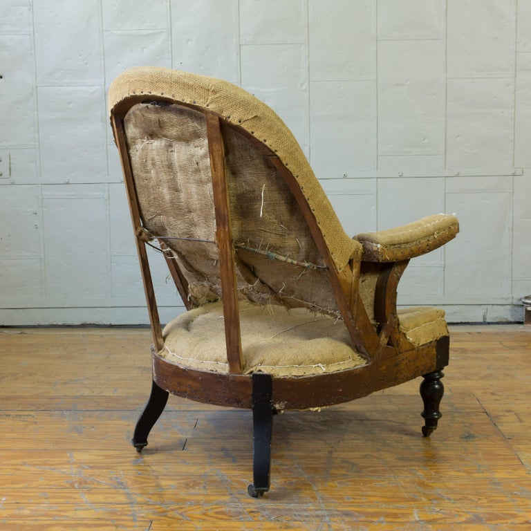 19th Century French Napoleon III Armchair For Sale 2