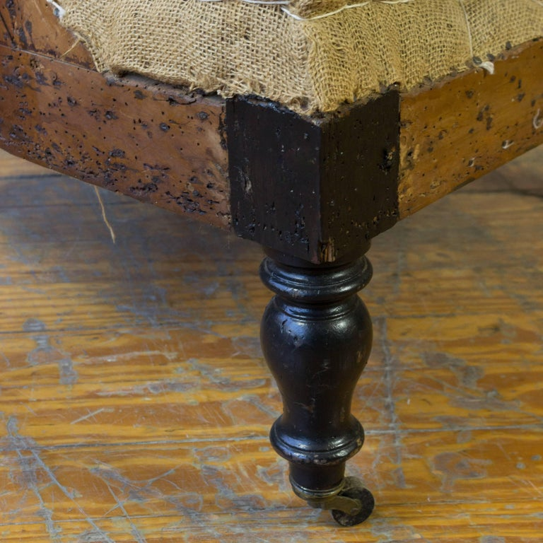 19th Century French Napoleon III Armchair For Sale 6