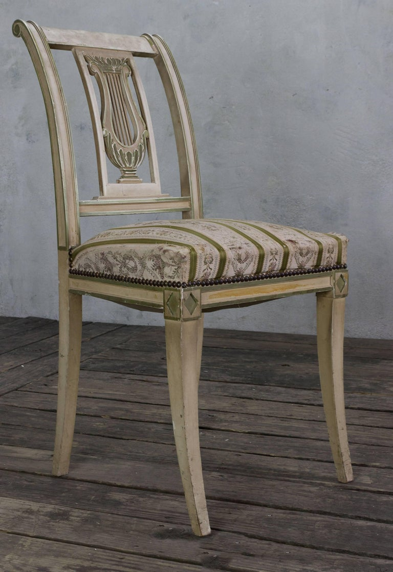 Set of Four French Dining Room Chairs 3