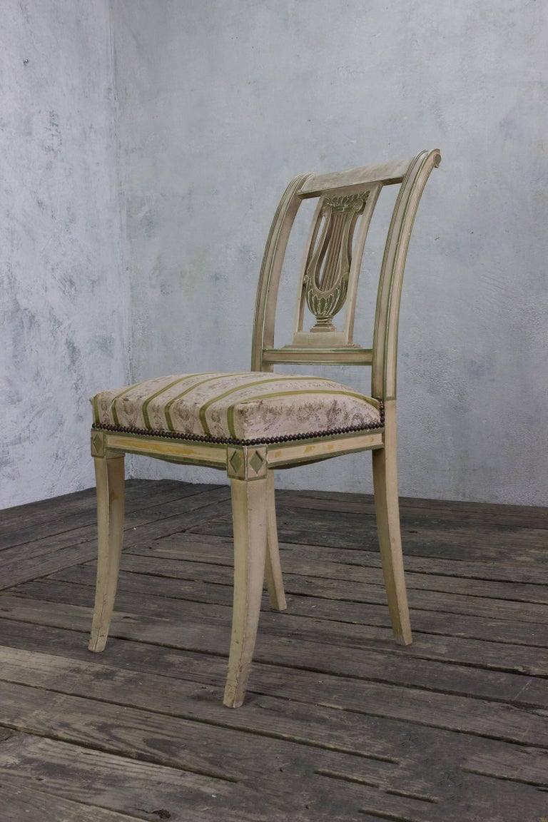 Set of Four French Dining Room Chairs 6