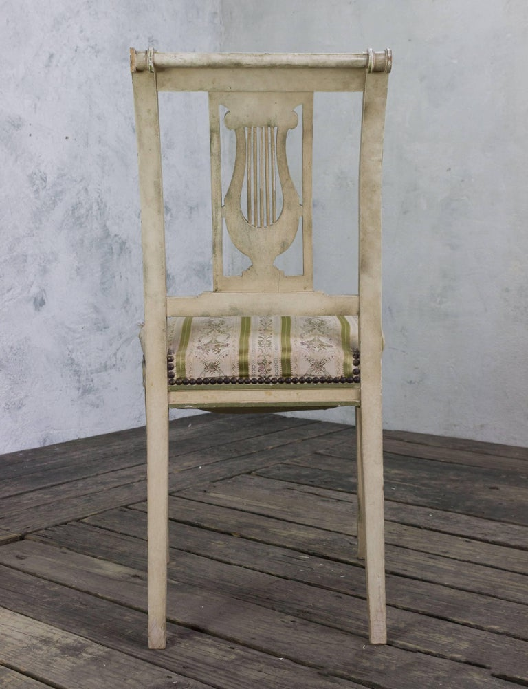 Set of Four French Dining Room Chairs 9
